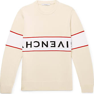 Givenchy Logo-intarsia Cotton Sweater - Off-white