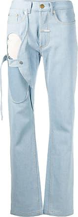 Zilver high rise cut out jeans - Blue