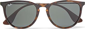 Ray-Ban Erika Round-frame Tortoiseshell Acetate Sunglasses - Brown