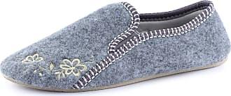 Ladeheid Women´s Felt Slippers Shoes Flipflops PFF87 (Melange, 40 EU = 6.5 UK)