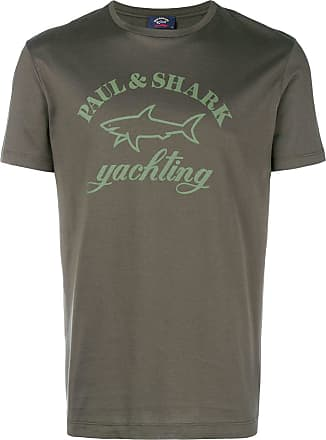 Paul & Shark Camiseta com estampa de logo - Verde