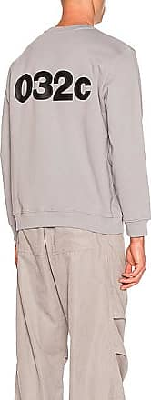 032c Logo Print Sweater in Gray