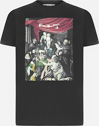 Off-white T-shirt Caravaggio Painting in cotone - OFF WHITE - uomo
