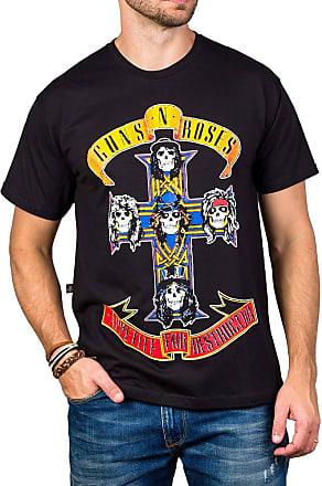 Bandalheira Camiseta Guns n Roses Appetite For Destruction Manga Curta
