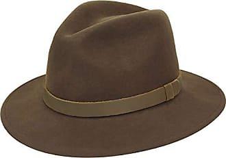 0753b07ca66 Pantropic Mens Hope Litefelt Fedora Trilby hat