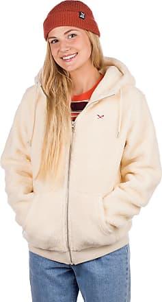 Iriedaily Arktis Fleece Zip Hoodie ecru