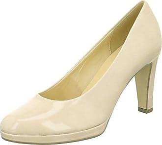 Gabor Herrliche Damen Kleid Pumps 5 UK  38 EU Sand Patent Hallo-Tech a818d7d4a8