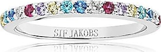 Sif Jakobs Jewellery Ring Corte Uno with multicoloured zirconia
