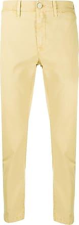 Jacob Cohen Lion Comfort slim-fit trousers - Yellow