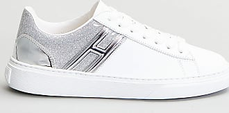 Reposi Calzature HOGAN H365 - Sneakers in pelle bianco argento