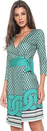 Enna Vestido Enna Curto Estampado Verde
