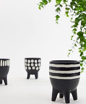 Sass & Belle Bogo - Set da 3 vasi-Multicolore