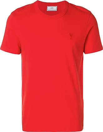 Ami Camiseta com bordado Ami de Coeur - Vermelho