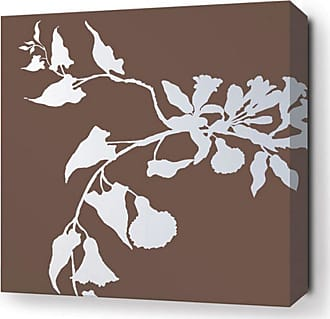 Inhabit Morning Glory Canvas Wall Art Chocolate - MGC_1616C