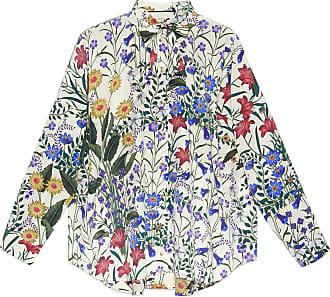 2af63d32111 Gucci Chemise oversize à imprimé nouveau flora