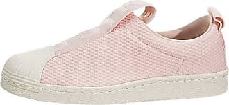 c480e686a05050 adidas Originals adidas Womens Superstar Slip-On Low-Top Fashion Sneakers  Pink 6.5 Medium