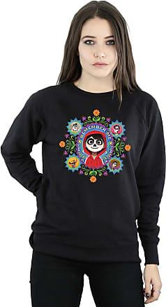 Disney Womens Coco Remember Me Sweatshirt Medium Black
