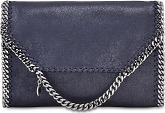 9574c2a847 Stella McCartney Falabella navy blue medium shoulder bag