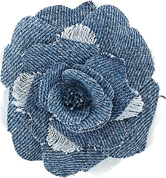 Philosophy di Lorenzo Serafini floral embroidered brooch - Blue
