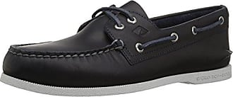 Sperry Top-Sider Mens A/O 2-Eye Pullup Boat Shoe, Navy, 7.5 M US