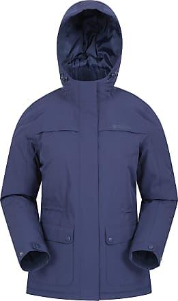 Mountain Warehouse Frontier Waterproof Womens Padded Jacket - Taped Seams Ladies Puffer Jacket, Adjustabl, Warm & Cosy Winter Coat - for Walking, Travelling & Hiking Nav