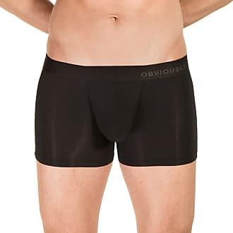 Obviously Mens PrimeMan AnatoMAX Boxer Brief 3inch Leg - Black - Medium