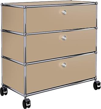 USM Haller Rollcontainer 52x37x60,5cm - USM beige