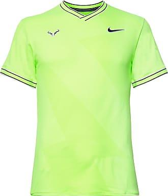 Nike Nikecourt Rafa Aeroreact T-shirt - Lime green