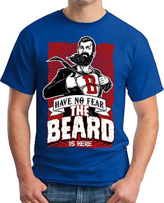OM3 Super-Beard - T-Shirt Geek, M, Royal Blue