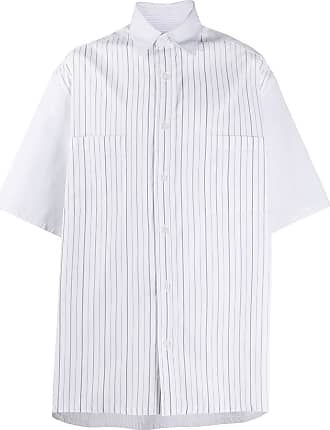Givenchy vertical-stripe shirt - Branco