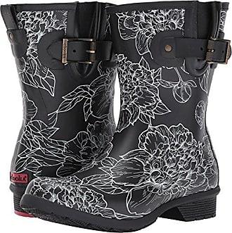 f242564e94a70 Chooka Womens Waterproof Mid-Height Printed Rain Boot with Memory Foam