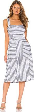 Bcbgmaxazria Fit Flare Dress in Gray
