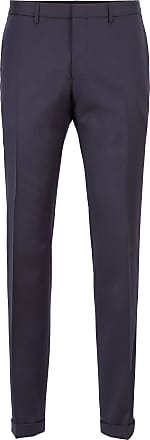 BOSS Extra-slim-fit pants in virgin wool