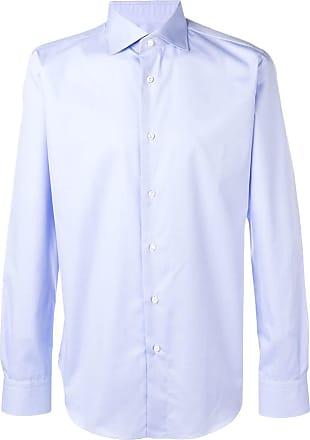 Brioni Camisa slim - Azul