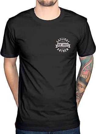 AWDIP Official Gaslight Anthem Head and Heart T-Shirt, Black, M