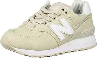 8870a52c838ba New Balance Womens 574 Core Sneaker, Moonbeam/White, 9.5 B US