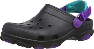 Crocs Classic All Terrain Clog, Black/Neon Purple