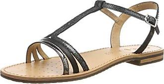 Geox SOZY A Creme Schuhe Sandalen Sandaletten Damen 72