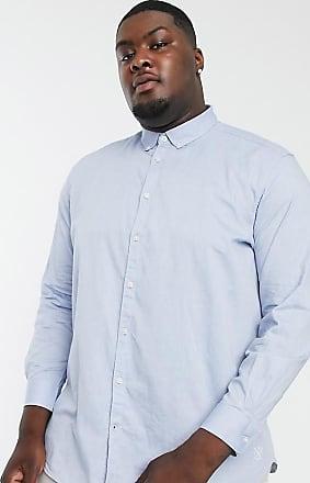 TOM TAILOR DENIM Skjorte Herre Blå Denim Klær Skjorter