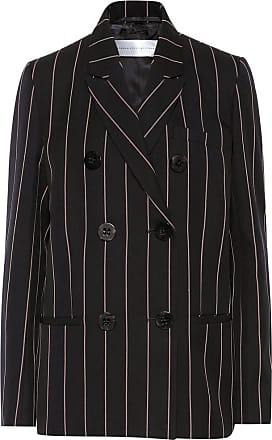 Victoria Beckham Double-breasted cotton blazer
