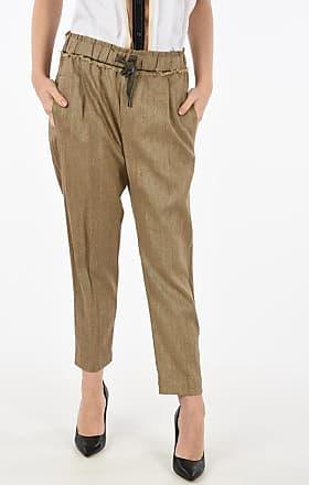 Brunello Cucinelli drawstring waist pants Größe 44