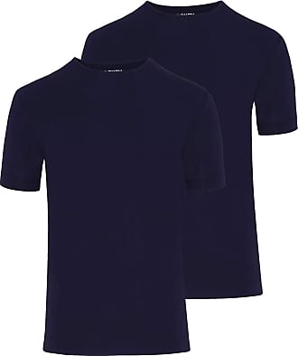 Jockey Mens Air T-Shirt 2 Pack (Night Blue/XL)