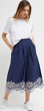 French Connection Briza Broderie Anglaise Culottes
