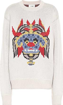 Kirin Haetae wool-blend jacquard sweater