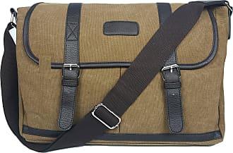 GFM Canvas Classic Style Mens Messenger Bag (NAG)(2195-1-CFKEK)