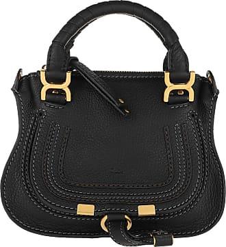 Chloé Mini Marcie Crossbody Bag Black Umhängetasche schwarz
