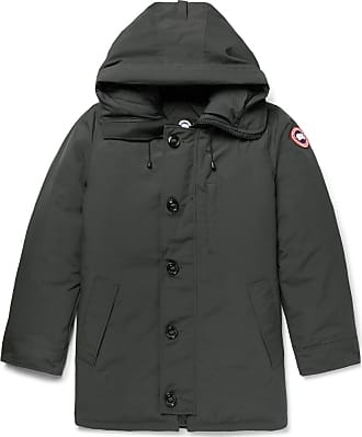 Canada Goose Chateau Shell Hooded Down Parka - Dark green