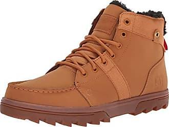 d2dd36a40926 DC Mens Woodland Fashion Boot, Wheat/Black, 11 Medium US