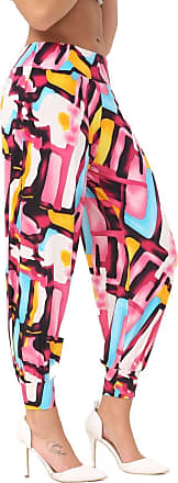ZEE FASHION New Womens Harem Trousers Ali Baba Long Ladies Girls Pants Baggy Hareem Leggings Plus Size 8-26