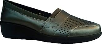 Cushion-Walk Womens Slip-On Shoe in Pewter - Daisy (Numeric_4)